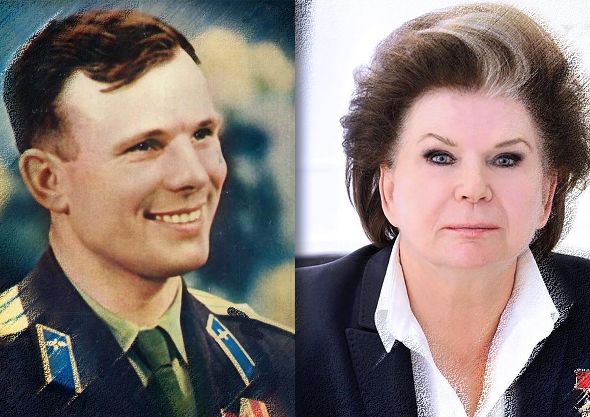 Если бы Гагарин был жив, он бы вел себя, как Терешкова?